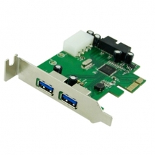 50pcs / lots USB 3.0 PCI-E card & 2 PORT and 20pin Female & Low Profile Half height bracket  , Free shipping By DHL