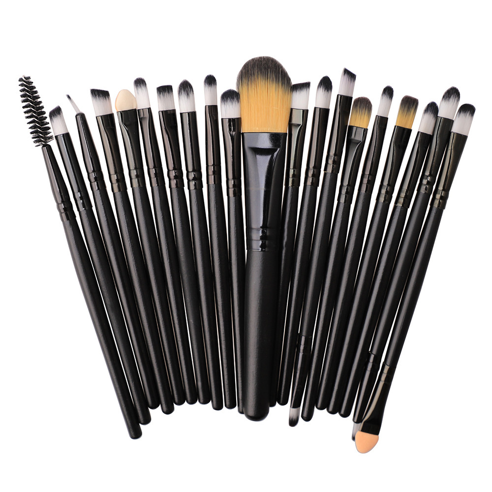 Make up Brush Set 20pcs Foundation Powder Eyeshadow Brush makeup brushes professional Women's Fashion cosmetic Brushes Set oct26(China)
