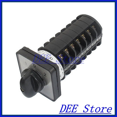 Electric 3 Position 28 Terminals Rotary Cam Changeover Switch 660V 10A<br><br>Aliexpress