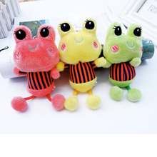 Lovely Hanging Legs Frog Plush Toys small plush pendant Stuffed Animal Plush Toy Home Decoration Kids Pillow Birthday Gift