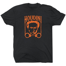 GILDAN Slim Harry Houdini T Shirt Magic Magician Tricks Poster Las Vegas Graphic Shirtmandude Mens Womens Kids T Shirts