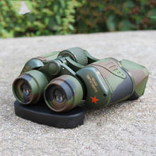 50X50 Camouflage Optical Outdoor Binoculars Low Level light Night Vision Telescope HD Hunting Camping Powerful Telescope