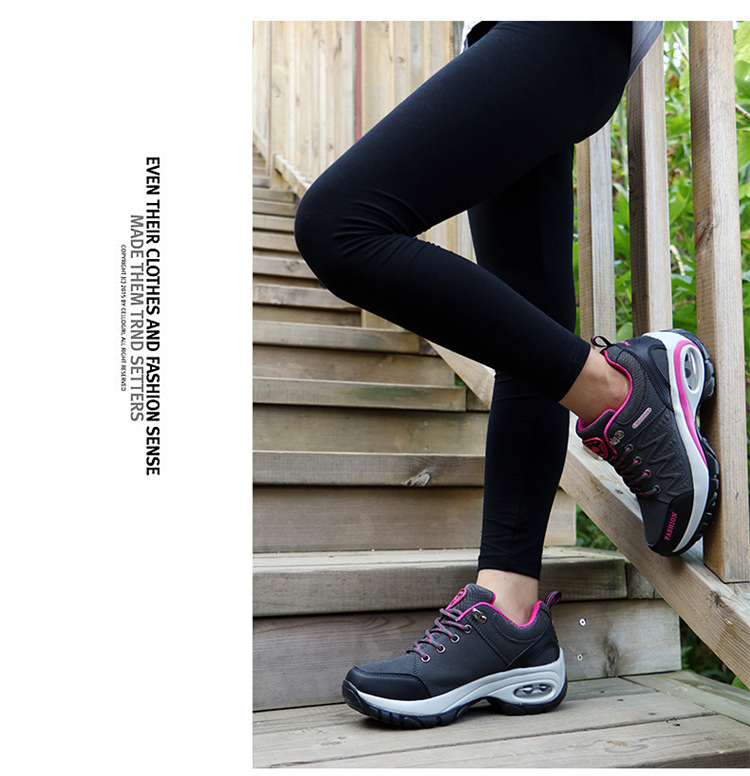 17 High quality Sneakers women shoes Running shoes woman leather Sport Shoes Air damping Outdoor arena Athletic zapatos mujer 17