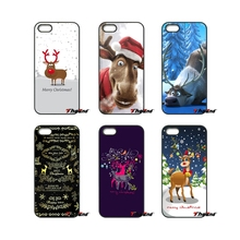 Cute Cartoon Christmas Love Animal Elk Phone Case For HTC One M7 M8 M9 A9 Desire 626 816 820 830 Google Pixel XL One plus X 2 3(China)