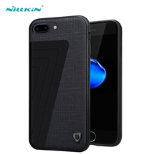 Nillkin New Leather Case for iPhone 7 Plus Hard Case TPU PC Mobile Phone Bag Back Cover for iPhone 7 Plus Shell Cases Protector(China)