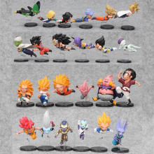 6pcs/set 5-9cm Dragon Ball Z Action Figure WCF The Historical Characters Vol.1 Vol.3 Dragon Ball Toy Figure Toys