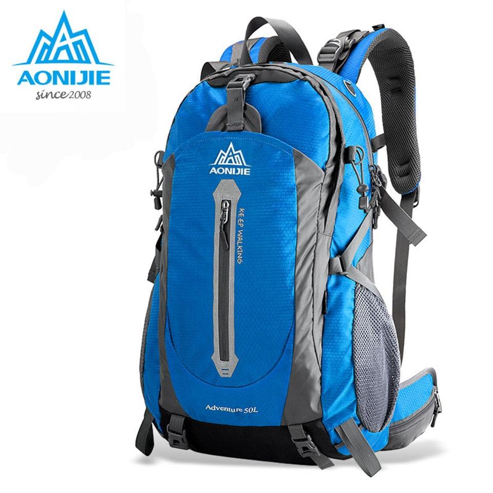 AONIJIE Climbing Bag Backpack Mountainteering Backpack Men Outdoor Sports Backpacks Mountain Bag Women Waterproof Hiking Bag<br>