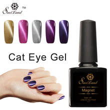 Saviland 10ml Colorful Magnetic Cat Eyes UV Gel Nail Polish Gel Lacquer Esmaltes Lak Long Lasting Nail Gel Vernise