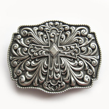 Distribute Belt Buckle Silver Plating Belt Buckle Free Shipping 6pcs Per Lot Mix Style is Ok