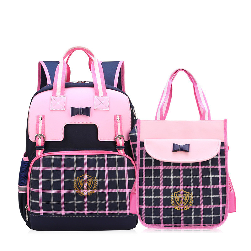 New British Style Children/'s Book School bag Packpack Boys Girls Satchel