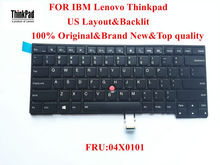 100% Brand New Original laptop Keyboard for lenovo Thinkpad T431s T440 T440p T440s Keyboard US Layout with Backlit FRU 04X0101