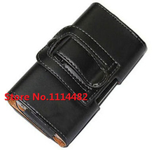 New Smooth pattern PU Leather Phone Belt Clip for HTC Wildfire s /A510e /A510C Cell Phone Accessories Pouch Bags Cases