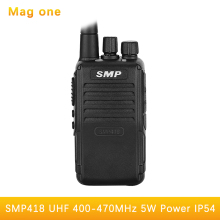 Suitable for the Motorola SMP418 UHF 400-470mhz two way radio power transceiver Pocket computer Mag One high power walkie talkie
