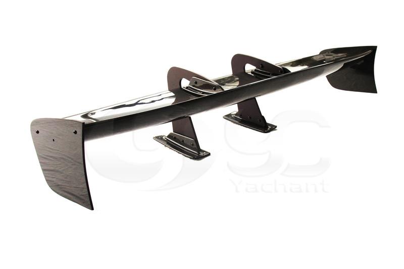 Universal Voltex Type 7 SWAN NECK Style 1600mm GT Wing Spoiler (Fits EVO7 8 9 GTR35 GT86 S2000 etc.) CF (8)