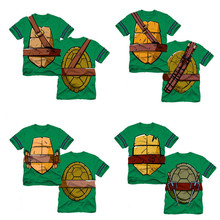 New Boys T Shirt Brand Cartoon Turtle Print T-shirt Designer Children's Kids Little Boys Tops Tee Infant Child Clothes for 2-9Y