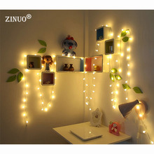 ZINUO  Led string 5M 50LEDs Warm White Battery Powered Fairy String Lights Lamps for Christmas Holiday Wedding Party Outdoor