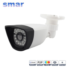 Smar 2MP IP Camera Outdoor Waterproof CCTV 1080P 12fps HD Network Bullet Camera 3.6mm Lens IR-CUT Filter P2P Cloud Onvif Hot