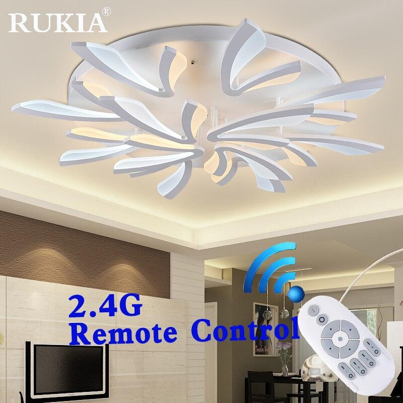 2017 New Acrylic Modern led ceiling lights for living room bedroom foyer Plafon led home Lighting ceiling lamp light fixture<br><br>Aliexpress