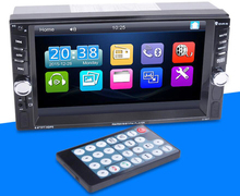 autoradio Car Radio Vehicle Electronics In-dash MP3 Audio Player Car Stereo FM Radio 12V Bluetooth TF Card Port
