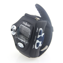 2pcs 820 22-Channel Wrist Watch Shaped Walkie Talkie with Adjustable Band