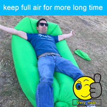 high quality air sofa fast inflatable sleeping bag fast air filled chair traveling Lazy laybag Camping Air Sleeping Bag