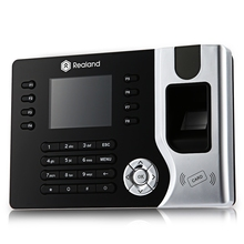 2.4 inch TFT Biometric Fingerprint Time Attendance Realand A - C071  Clock Employee Payroll Recorder Digital Reader Machine