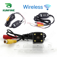 Wireless CCD Track Car Rear View Camera For Ford Focus 2009/2010/11 Parking Assistance Camera Trackline Night Vision Waterprof(China)