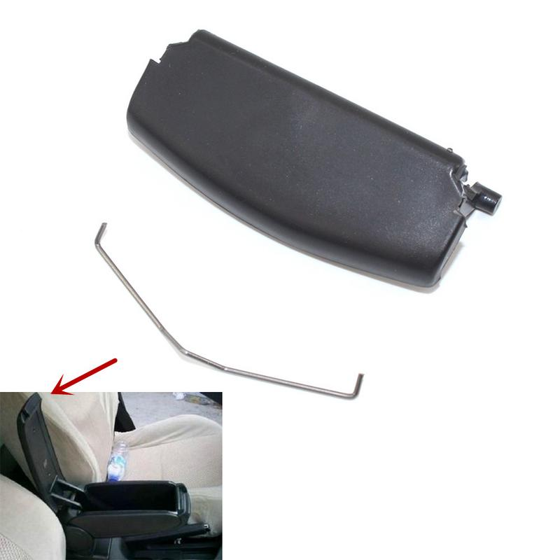 Auto Beige Armrest Lid Console Cover Latch Clip Catch For AUDI A4 B6 B7 2002-08