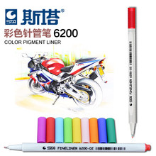 1 PC STA Colorful Fineliner 26 Colors to Choose Fine Point Sketch Manga Marker Graffiti Drawing Pen Art Marker Pen Painting