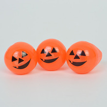 5PCS Halloween Props Soft Eyes Elephant Flash Rings Pumpkin Illuminated Ring Lamps Finger Light Funny Toy KQS8(China)
