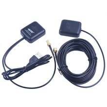 GPS Antenna Navigator Amplifier 5M/16FT Car Signal Repeater Amplifier GPS Receive And Transmit for Phone Car Navigation System(China)