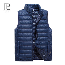 Buy New Brand Winter Jacket Vest Men Solid Color gilet cuir homme sleeveless Mens Windproof Warm Waistcoat Loose vest #B22 for $15.90 in AliExpress store