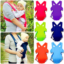 2016 New Ergonomic Baby Carrier Sling Breathable Multifunctional Front Facing Infant Baby Carrier Backpack Pouch Wrap Kangaroo(China)