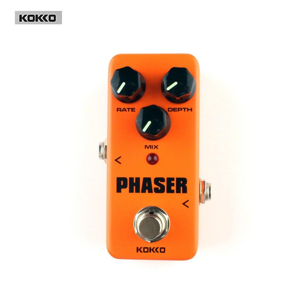 Kokko FPH2 Mini Pedal Phaser Analog Guitar Phase Effect pedal  Guitar Parts Effect Pedal<br>