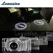 2X LED Courtesy Lamp Car Door Welcome Light 12V Projector Shadow For Cadillac SRX XTS 2011-2013 Buick LaCrosse 2012 Accessories(China)