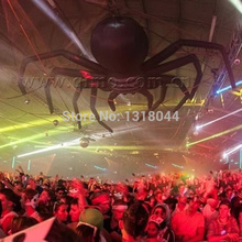 Giant party decoration halloween inflatable hanging spider for sale