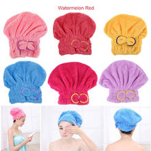Dry hair Shower Cap Fashion Bow Tie Microfiber Hair Turban Quick Dry  Hat Cap Wrapped Towel Bath Dry hair Shower Cap