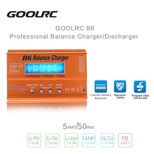 Original GoolRC B6 Mini Multi-functional 50W Battery Balance Charger/Discharger for LiPo Lilon LiFe NiCd NiMh Pb RC Battery Part