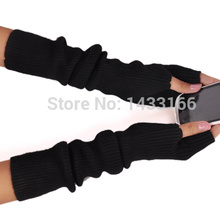 BELIARST 2017 New Winter Long Section Of Wool Fingerless Gloves Hot Color Can Be Customized Authentic Free Shipping sleeve(China)