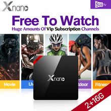 Buy Fast XNANO Android 6.0 Smart TV BOX 2GB 16GB S905X Quad Core 4K WiFi IPTV Subscription SUBTV Code Brazil Russia Swedish IPTV Box for $71.89 in AliExpress store