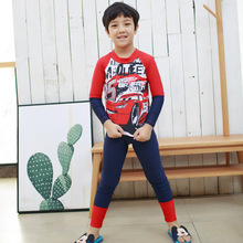 Tankini Children'S Swimwear Child Bikini For Children Swim Wear 2017 New Rhine Long Sleeve Pants Suit Biquini Infantil Cocuk