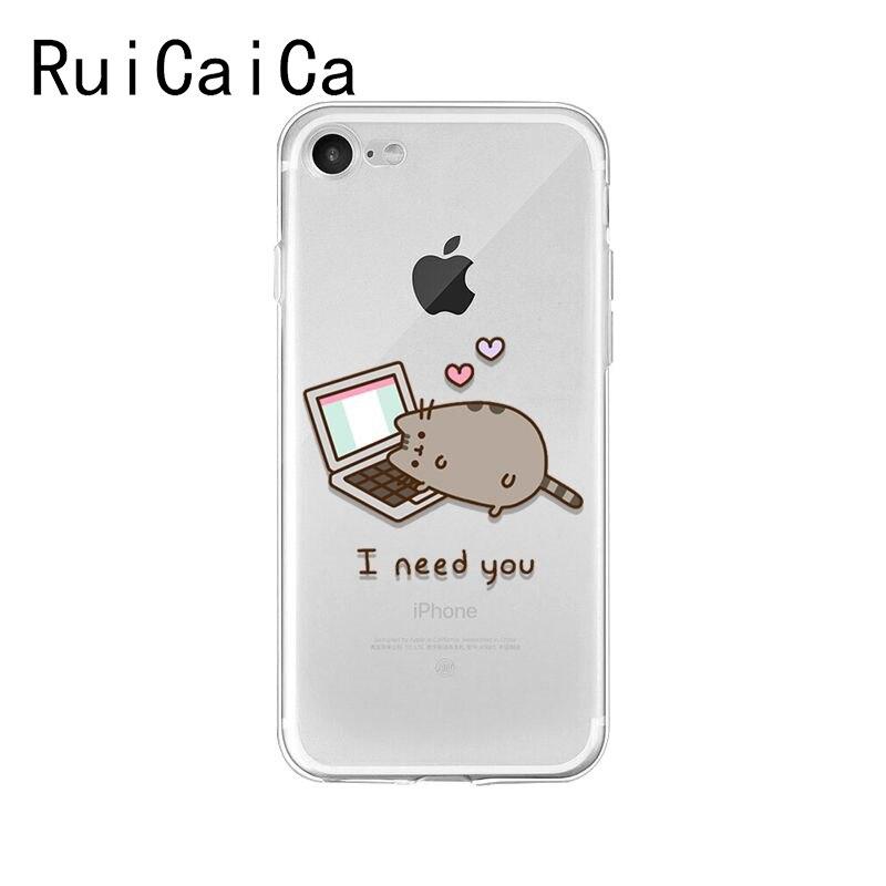 Cute Pusheen Cat Cartoon  Meow
