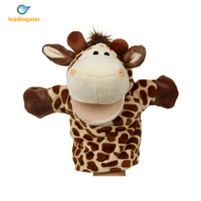 LeadingStar Soft Plush Giraffe Hand Puppet Perfect Early Education Story Tools as a Gift For Kids Funny Toy Giraffe Puppet zk15