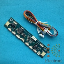 Multifunction Inverter for Backlight LED Constant Current Board Driver Board 12 connecters LED Strip Tester free shipping(China)