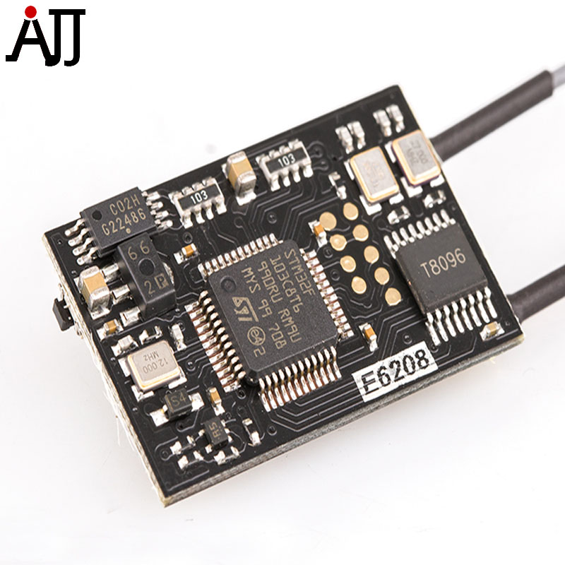 ElgaeRx 2.4Ghz Receiver E6208 SBUS Output Board Compatible Futaba R6208SB Fasst Receivers<br>