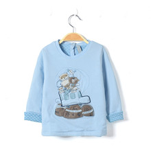 2016 spring wear newborn baby boy sweatshirt infant boys warm jacket toddler long sleeve cardigan kids cotton family outfits(China)