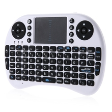 iPazzPort KP-810-21 2.4GHz Mini I8 Wireless QWERTY Keyboard with Combo Touchpad Mouse for PC XBMC Google Android TV Box