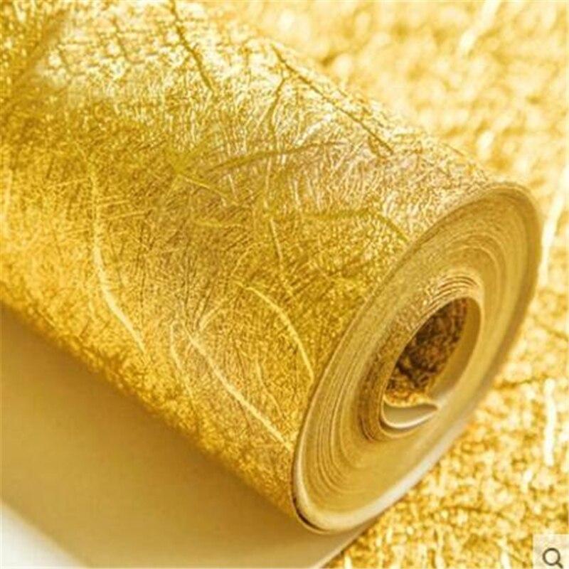 beibehang gold foil silver foil wallpaper embossed brushed roof roof lanterns ceiling KTV club gold wallpaper papel de parede<br>