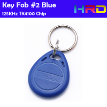 Hot sale TK4100 125KHz low frequency rfid keyfob ID card reader hotel lock access control key fob
