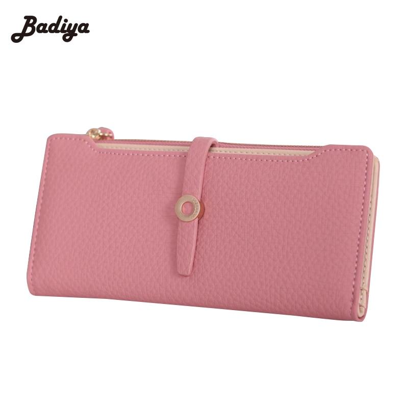 High Quality PU Leather Pockets Women Wallets Female Purses For Girls Long Women Wallet Zipper Card Holder Coin Purses <br><br>Aliexpress
